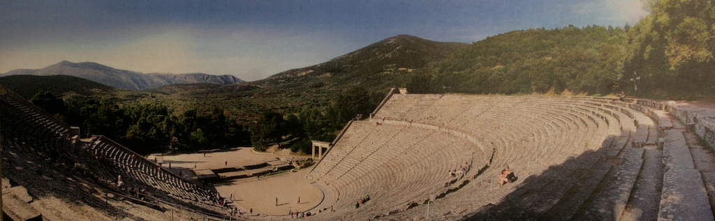 The Theatre of Asklepios at Epidiaurus